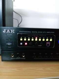 KARAOKE PROFESSIONAL DIGITAL KTV AMPLIFIER  + 4 SETS OF 8 OHMS OF SPEAKERS SYSTEM SORROUND SOUND