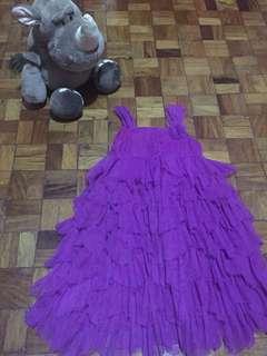 Violet Party Dress