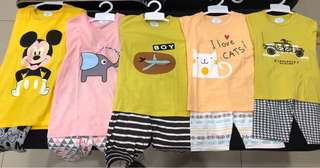 New Arrival Kids Set (1-8 y/o)