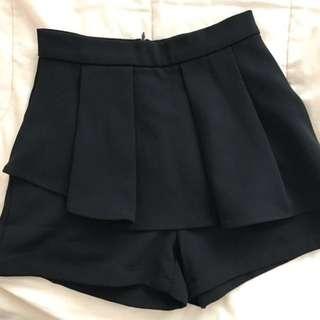 Brand new Editor's Market High-Waisted Black Shorts