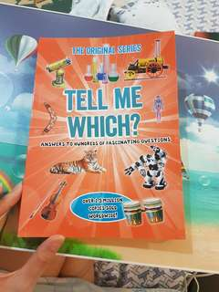 TELL ME WHICH? (Educational Books)