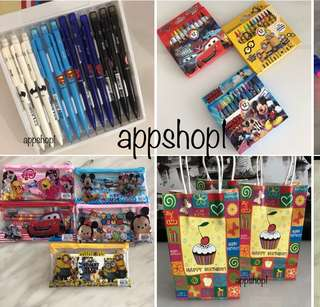 Goody bag, goodies bag gift, goodie bag packages, event door gift with appshop1