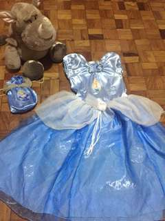 Cinderella Costume with Free Bag