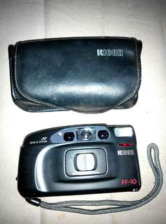 1992年--Ricoh Myport Dual mini(FF-10)35m m菲林相機懷舊