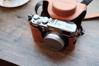 富士 Fujifilm X100S,連皮套