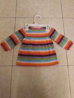 Carter dress (6 months old) brand new