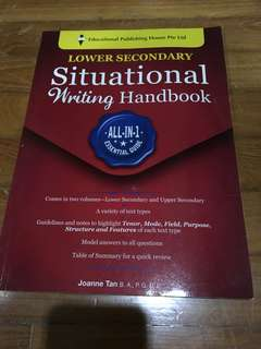 Situational writing book (lower Sec)