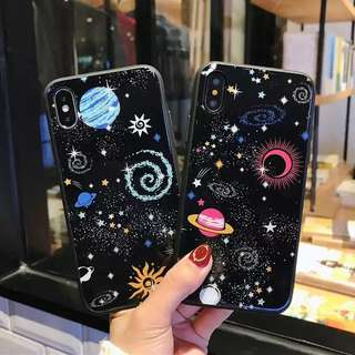 [PO] Glossy Space Planet phone Casing