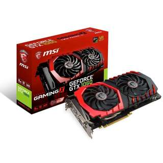 MSI GeForce GTX 1060 GAMING X 6GB GDDR5