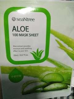 SeaNtree Aloe 100 MASK SHEET