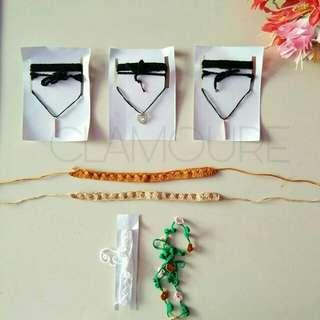Choker Necklace/Flower Crown Crochet