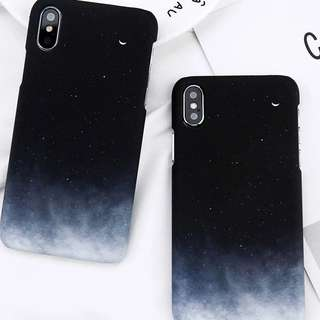 [PO] Starry Sky Stars Moon phone Casing