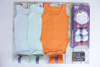 6pcs for $20!! Baby Singlet Romper Jumpers