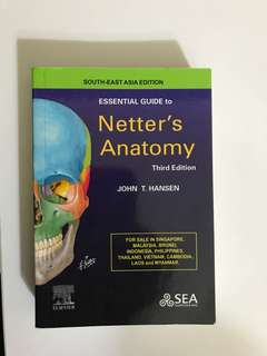 Netter's Anatomy 3rd Edition (Essential Guide)