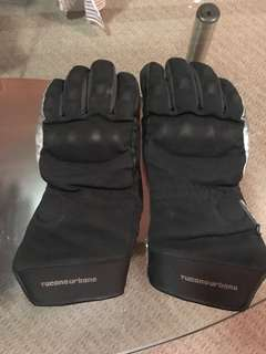 Water resistant winter motorcycle gloves Tucano