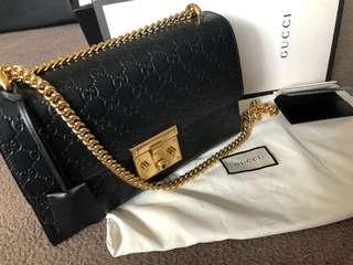 Gucci large signature bag