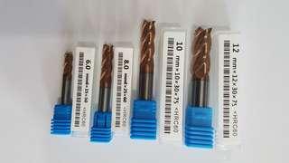 Carbide Endmill Set