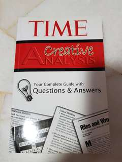 TIME Creative Analysis (General Paper)