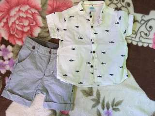 Crib Couture Polo and Short