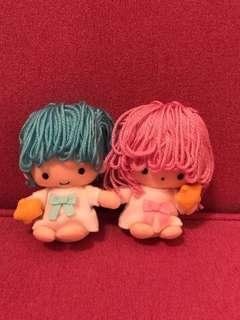 2001年罕有絕版Little Twin Star冷頭公仔