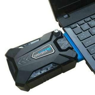 Coolcold laptop vacum coler cooling pad hisap panas notebook