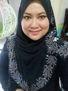 Exclusive Tudung Datin instant ⚘promotion mother day free inner            instock