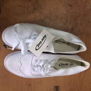 WHITE SHOES SPRINT FOR F/M