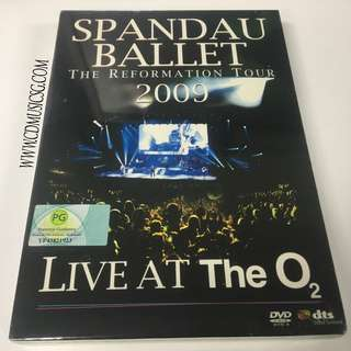 🚚 [DVD] Spandau Ballet The Reformation Tour 2009 Live At The O2