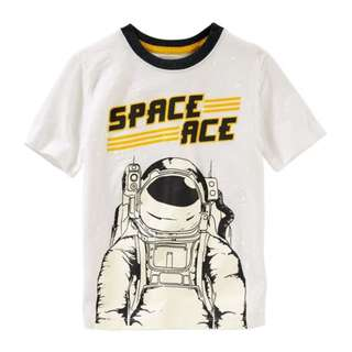 SALE OSHKOSH Glow-In-The-Dark Space Ace Tee