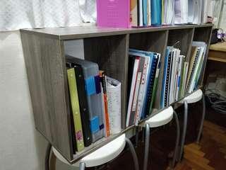 BNIB Solid wooden bookshelf