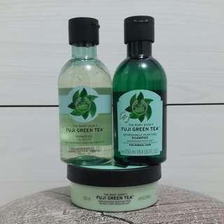 The Body Shop - Triple Set of Fuji Green Tea Series