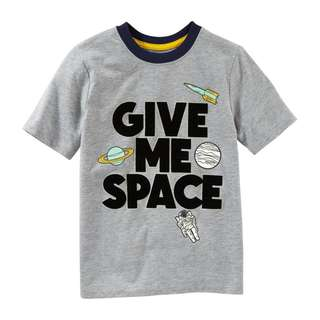 SALE OSHKOSH Give Me Space Tee