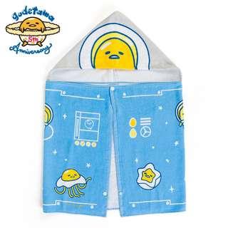 [PO] Sanrio Japan Gudetama 5th Anniversary Hooded Towel (Planet)