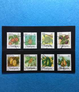 1986 National Fruit Definitive Set 8V