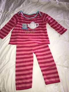 Mothercare 18-24mos Tea Party Comfy Pajama