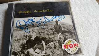 Air Supply signature CD