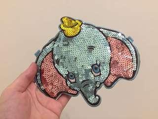 Disney 迪士尼 小飛象 Dumbo 票卡袋 零錢包