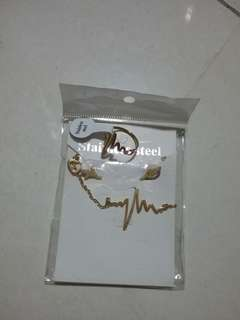 Gold Stainless hearbeat set