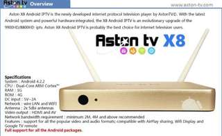 Aston x8 Android Box