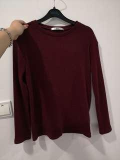 Korean Pink Sweater Shirt