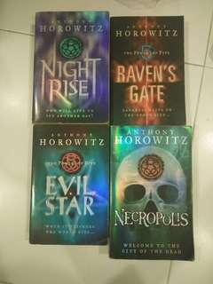 Anthony Horowitz, The Power of Five series