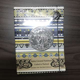 Fabric Covered Notebook Crafted in Thailand