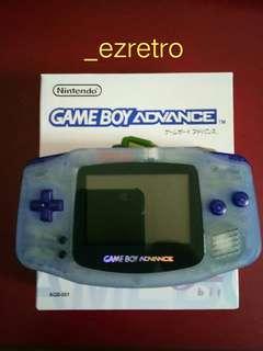 Gameboy Advance ( Pokemon edition)