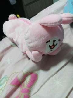 粉色兔子筆袋