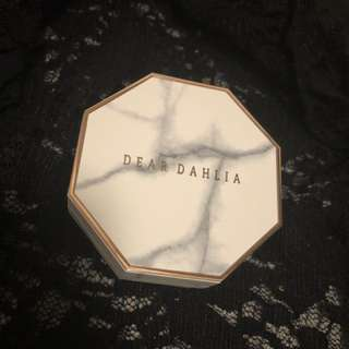 Dear dahlia cushion