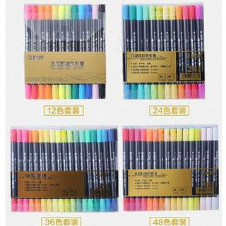 STA Aquarelle Coloring Brush Pens Graphic Markers