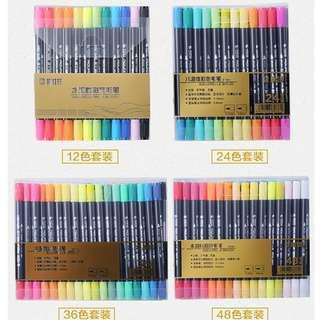 STA Aquarelle Coloring Brush Pens Graphic Markers