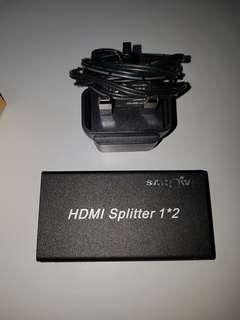Sarowin HDMI 1 to 2 splitter. Astro compatible.