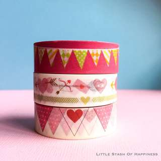 FREE NORMAL MAIL Washi Tapes #002, #003 #004