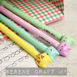 1pc Cute Kitty Pen